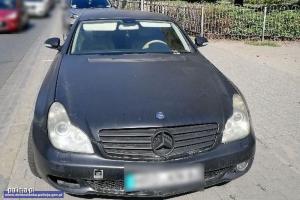 Odzyskany Mercedes