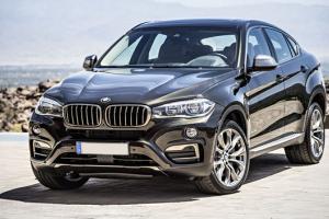 BMW X6 odnalezione po kradzieży